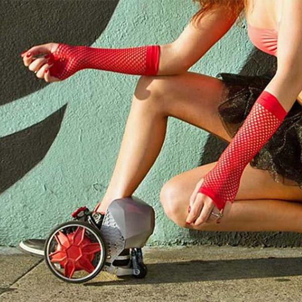 ролики,Kikstarter,RocketSkates, Созданы ролики с электродвигателями