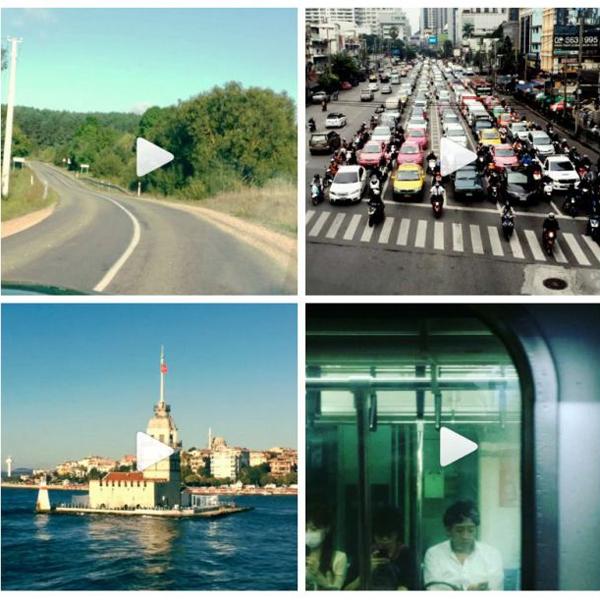 Instagram,Timelapse, Timelapse-путешествия, снятые в новом приложении Instagram
