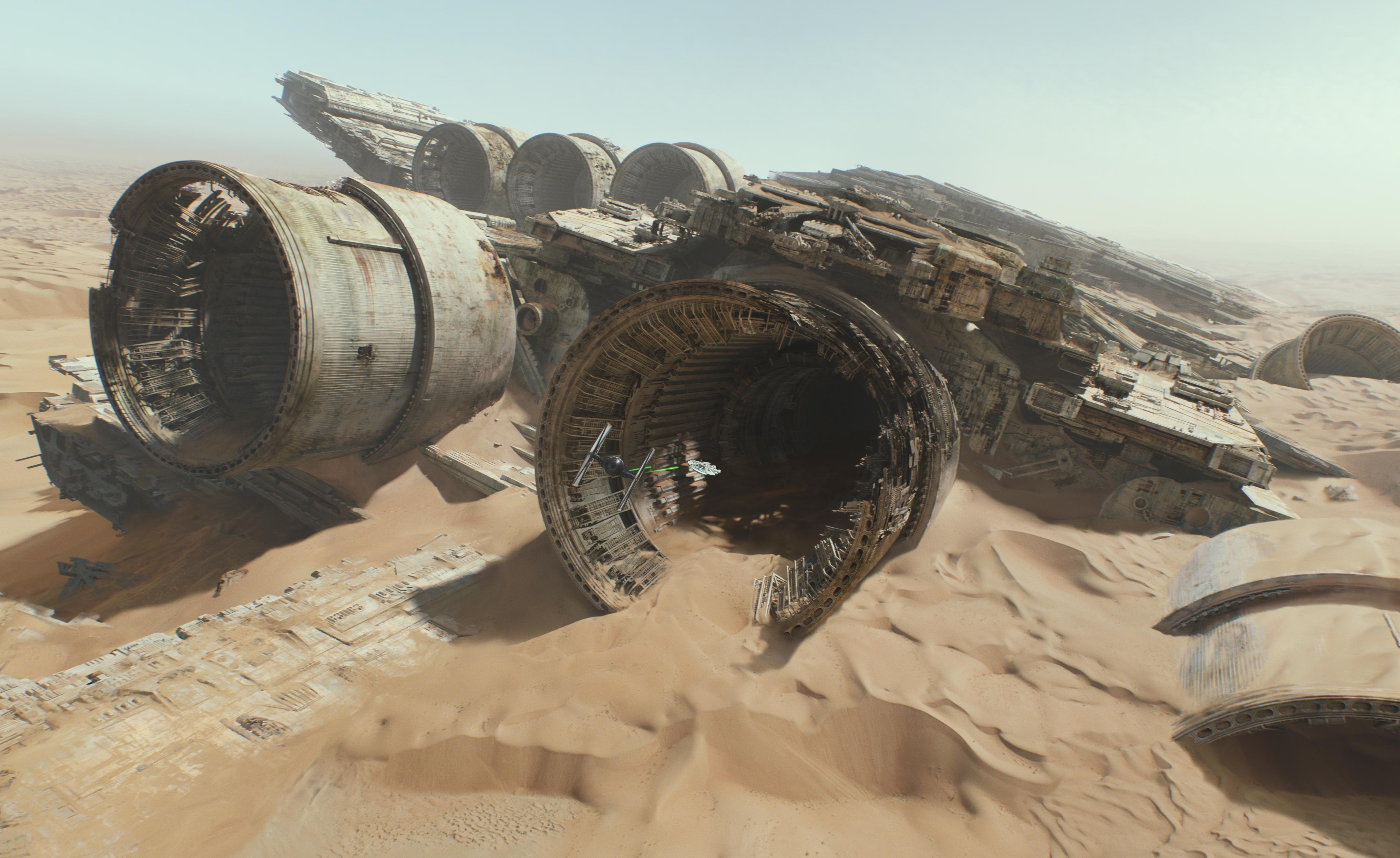 Превью трейлера фильма «Звёздные войны: Пробуждение силы»