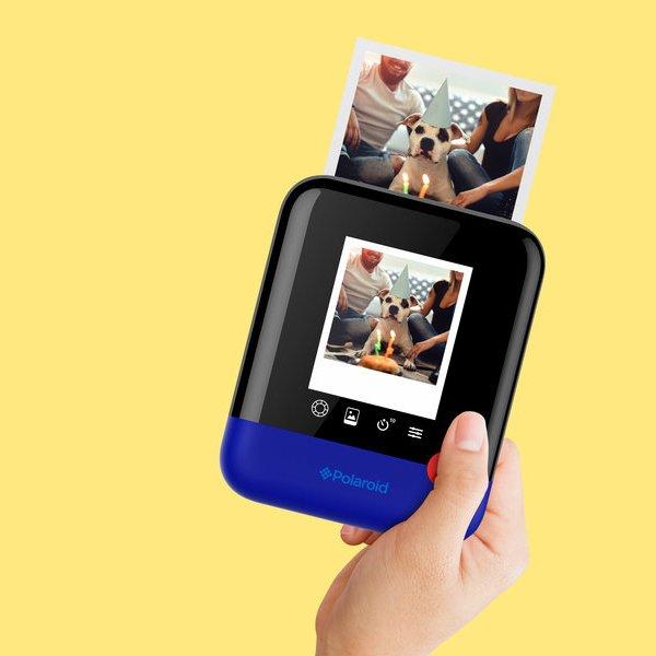 CES, Polaroid, фотография, камера, смартфон, Выставка CES 2017: Polaroid представила Polaroid Pop - камеру для моментальной фотографии