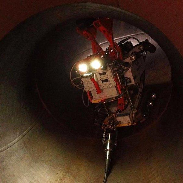 США, Россия, энергетика, газ, Русский робот инспектирует американские трубопроводы