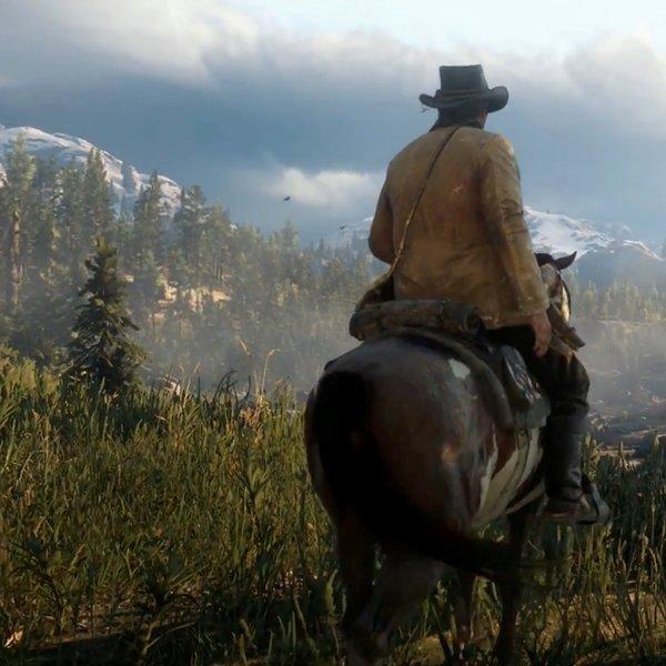 История, Первый геймплейный трейлер Red Dead Redemption 2
