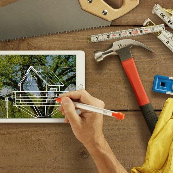 Apple, стилус, планшет, Logitech Crayon - альтернатива Apple Pencil по цене $49