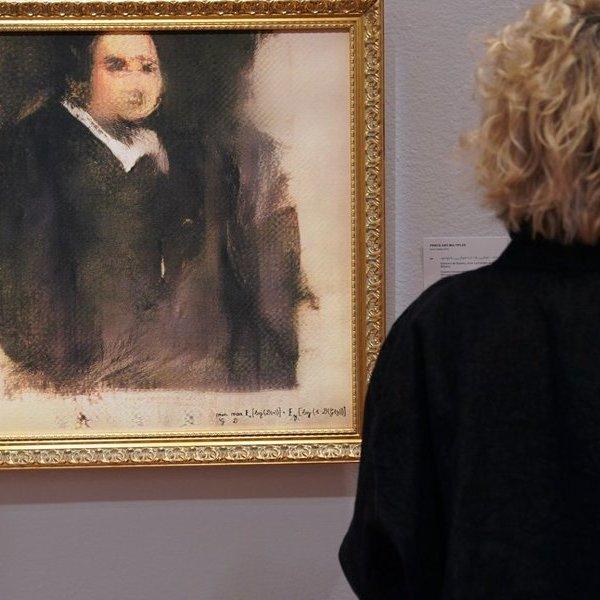 искусство,нейросеть, Созданный нейросетью портрет продали за невероятные $432 тысяч на аукционе